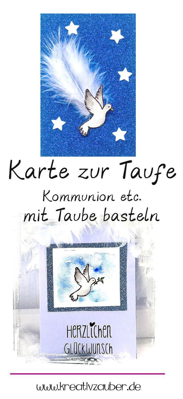 Taube Taufsymbol Taufsymbole Zur Taufe Und Karten Basteln