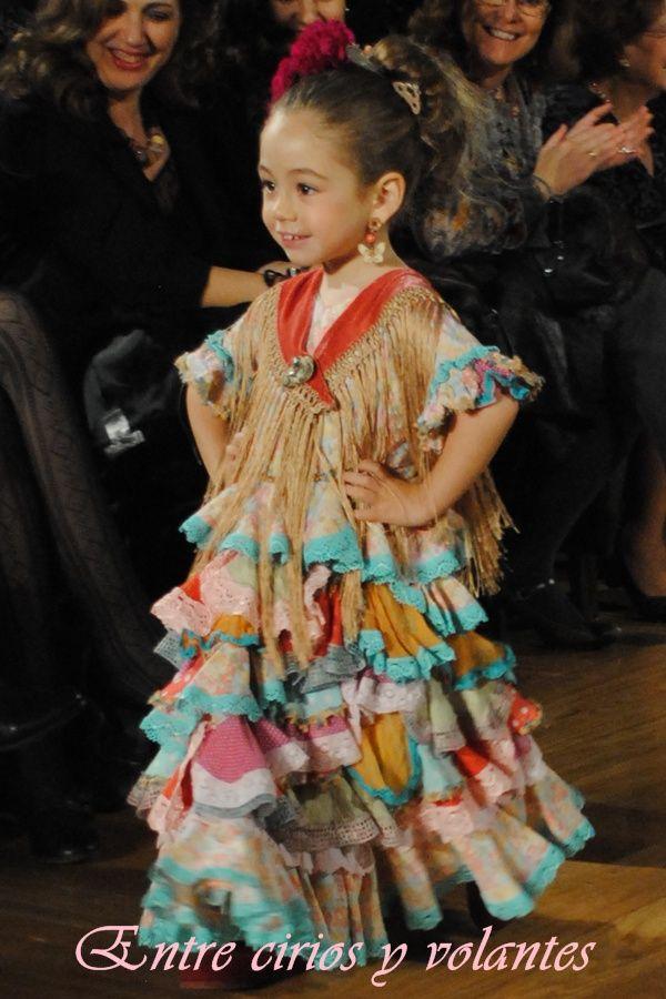 Peuqñas modelos. Pequeñas #flamencas. Traje de flamenca de #TallerDeDiseño.