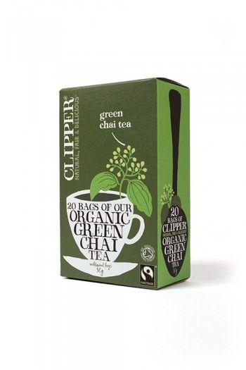 20 green chai tea.Hinta 3,50€