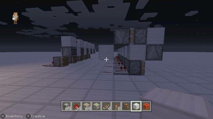 Melon farm circuit for Minecraft Switch Edition using observer blocks