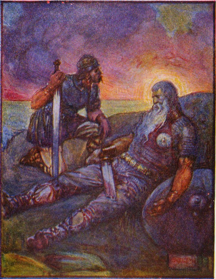 an overview of the morals in the anglo saxon epic beowulf Since it originated in oral tradition, the epic beowulf has no known author it does,  however, serve as a representation of the anglo-saxon culture it originates.