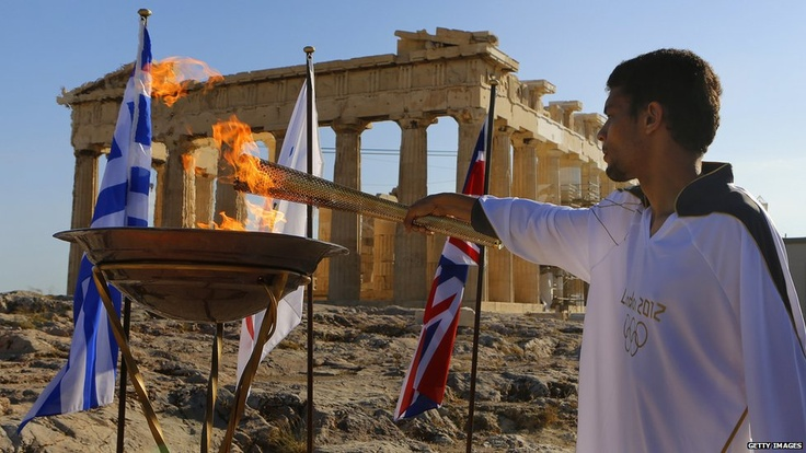 Olympic Flame - GREECE!!!!!!!