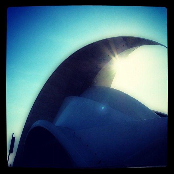 Photo from the Instacanvas gallery for ilaria_agostini. Santa Cruz de Tenerife, Canary islands, Auditorium