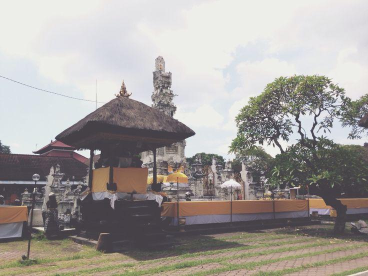 Pura Jagatnatha Denpasar. Bali - Indonesia