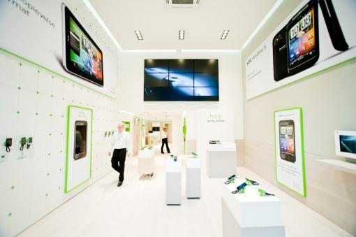 老人與蘋果: HTC Store:第一家丹麥店