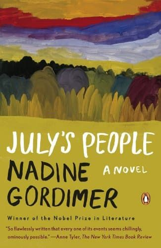 Right now July's People by Nadine Gordimer is $1.99