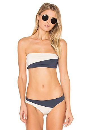 TAVIK Swimwear Moon Top in Tapioca | REVOLVE