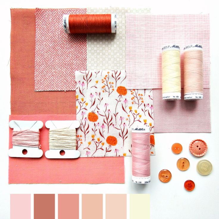 Color curated moodboard by Very Berry for #the100dayproject - 61/100 peach pink cream