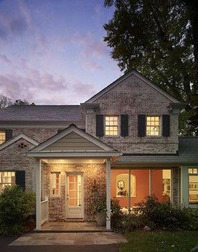 Exterior Trim Colors For A Reddish Pink Brick Ranch Style