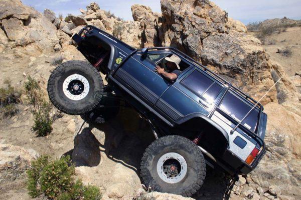 Crazy Jeep Cherokee XJ