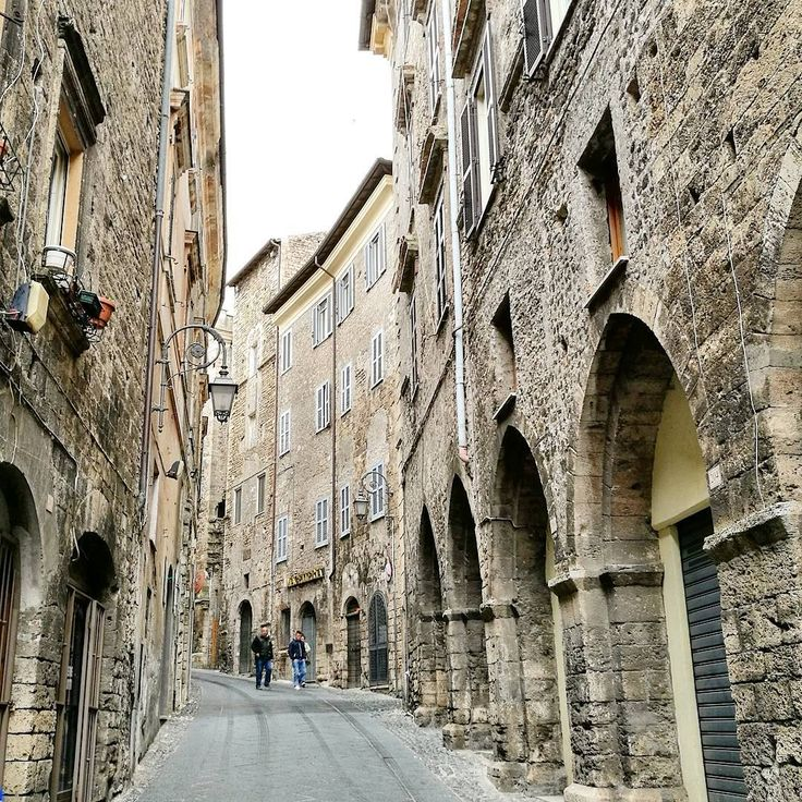 Anagni a small medieval hill town 475 meters above seahellip