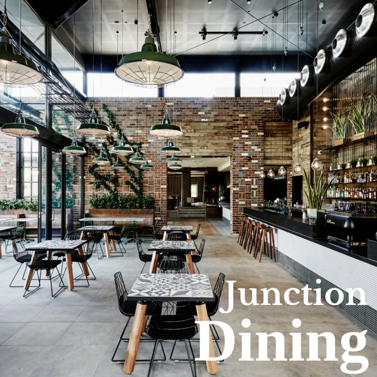 the unique dining space junction wwwjunctionmoamacomau - Beaded Inset Restaurant Interior