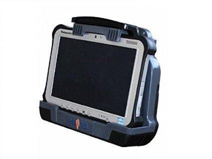 Panasonic Havis Toughbook Certified Cradle For The Panasonic Toughpad Fz-g1 Tablet. Port