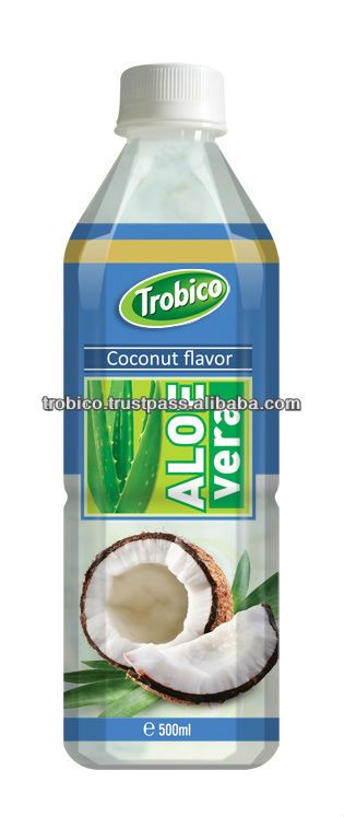 Aloe Vera juice with coconut flavoring /I've only tried the Visvita brand and it's good