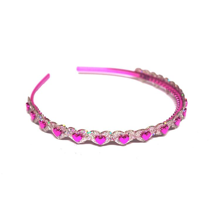 Diadem barn cerise hjärtan Choise by Heart HP1073