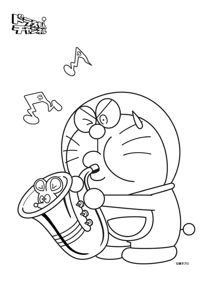 100 Best Doraemon Coloring Pages Images On Pinterest