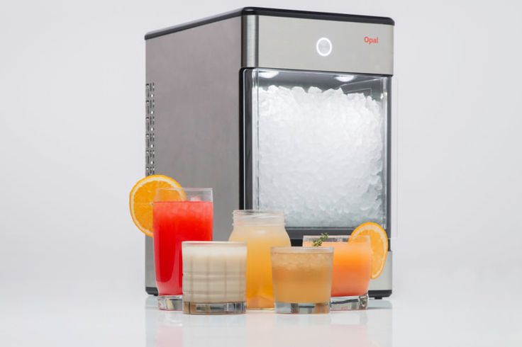Shut up!!! In 2016 you can make your own Sonic Ice!!! GE FirstBuild Opal Nugget Ice Maker