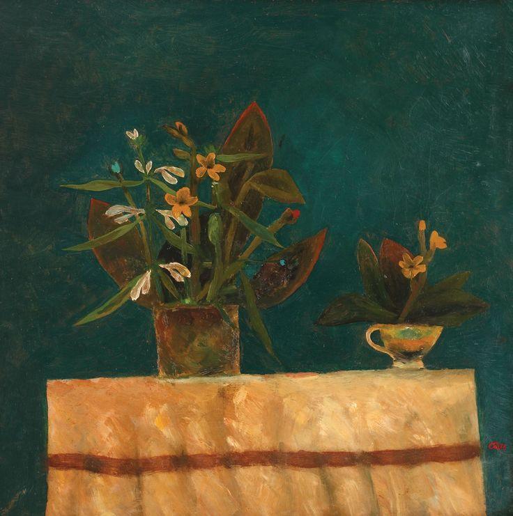 Ştefan Câlţia, Flori pe masă