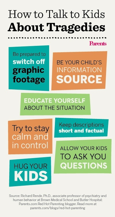How to talk to your kids about tragedies