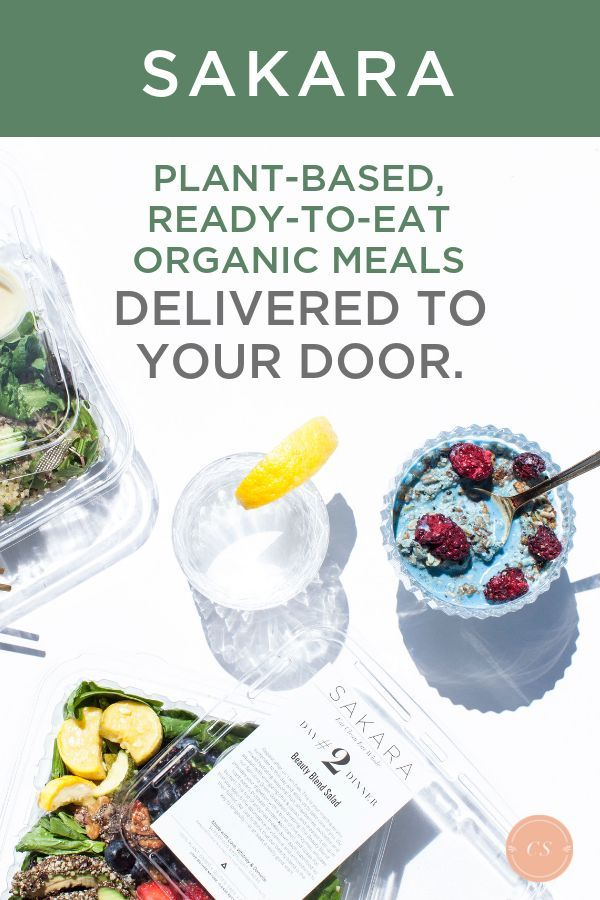 Looking For Organic Meal Delivery Service You Can Grab 15 Off Sakara Meal Delivery Today To Get Plant Based Organic Recipes Healthy Meals Delivered Eat Food