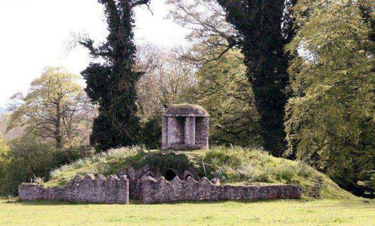 Fox Earth, also at Larchill Arcadian Garden.