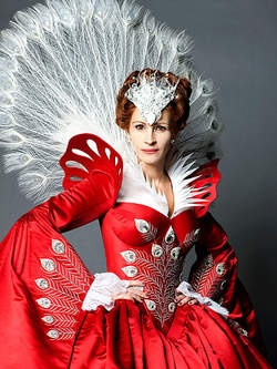 The Brothers Grimm : Snow White (2012) Julia Roberts as the Evil Queen.  I can't wait!