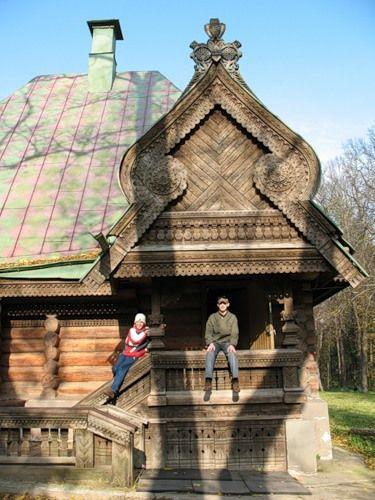 "The Bathhouse in the village of Abramtsevo, in the museum - reserve """" Abramtsevo '. "" Bathhouse built in 1877 - 1878"