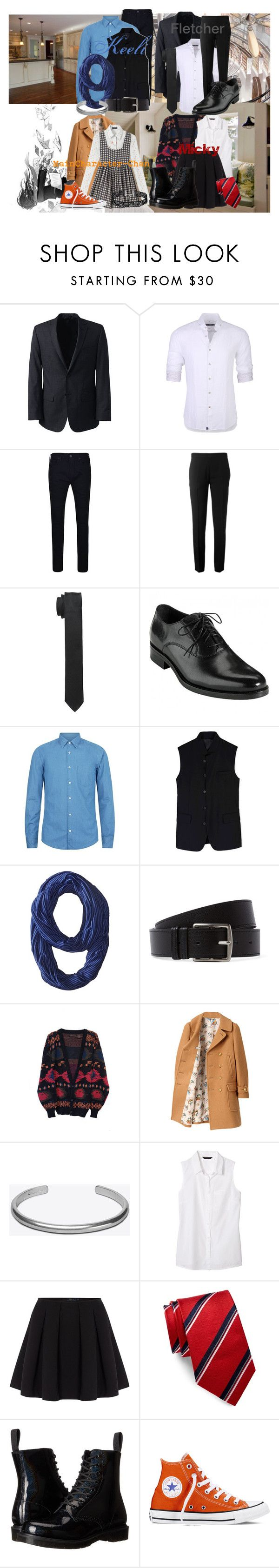 """""""Ticket To Time; Part 1"""" by bubbythenarwhal ❤ liked on Polyvore featuring Lands' End, Stone Rose, True Religion, Chloé, Dolce&Gabbana, BOSS Hugo Boss, D.GNAK by KANG.D, Nike Golf, Hermès and Beautiful People"""