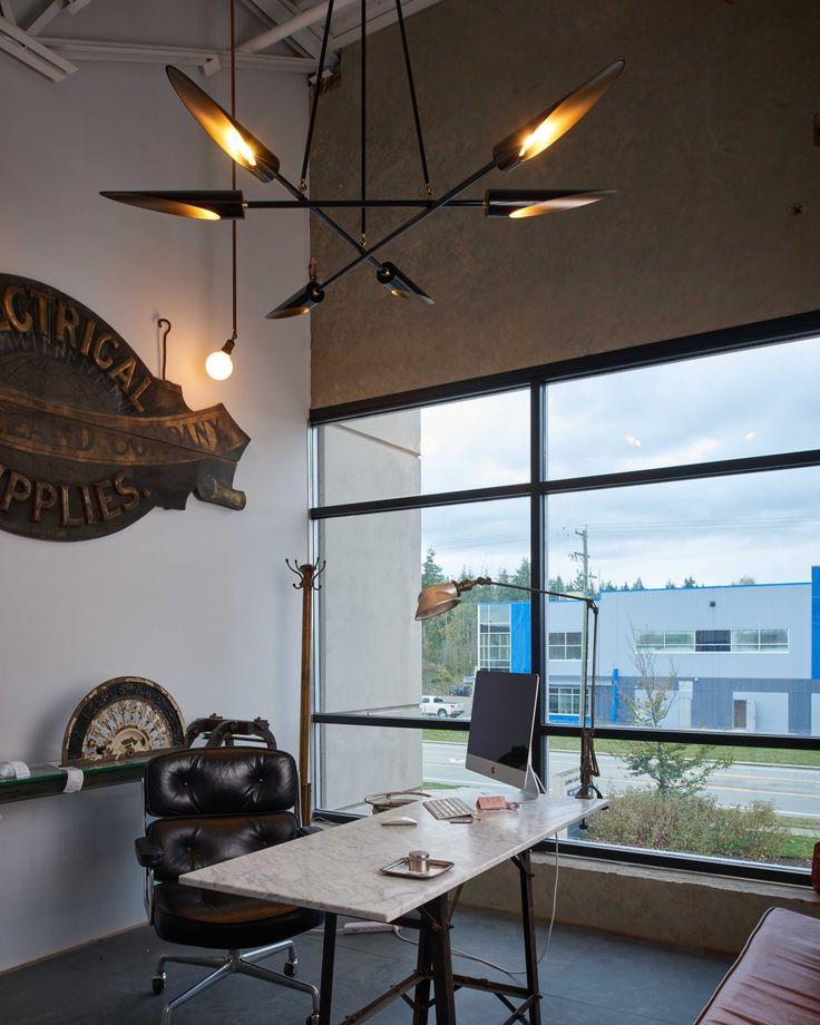 Harmony light suspended in Scott Landon's new office  #lighting #lightingdesign #custom #interiordesign #archiproducts #designer #archilovers #architecture #bespoke #homedecor #architecture_hunter #karice #interiors #architecturallighting #design #luxurylighting #harmony #collaboration