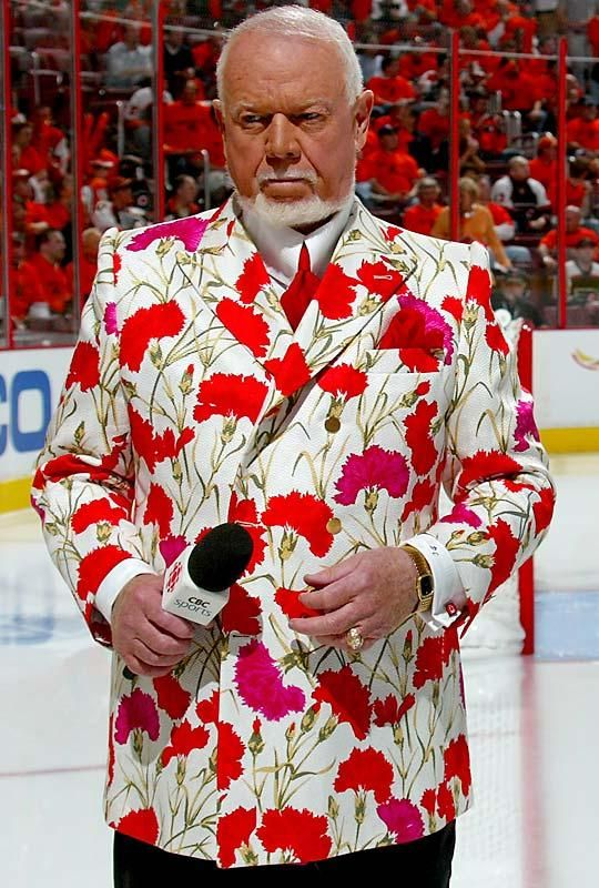 "Don Cherry- make a better curtain in a beach house Nothing says ""the sweet smell of success"" like floral arrangement evening wear by Cherry."