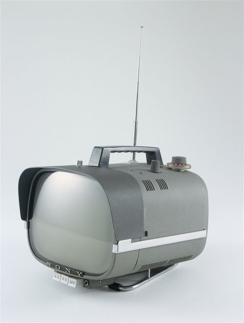 Sony TV8-301 portable television, c.1960.