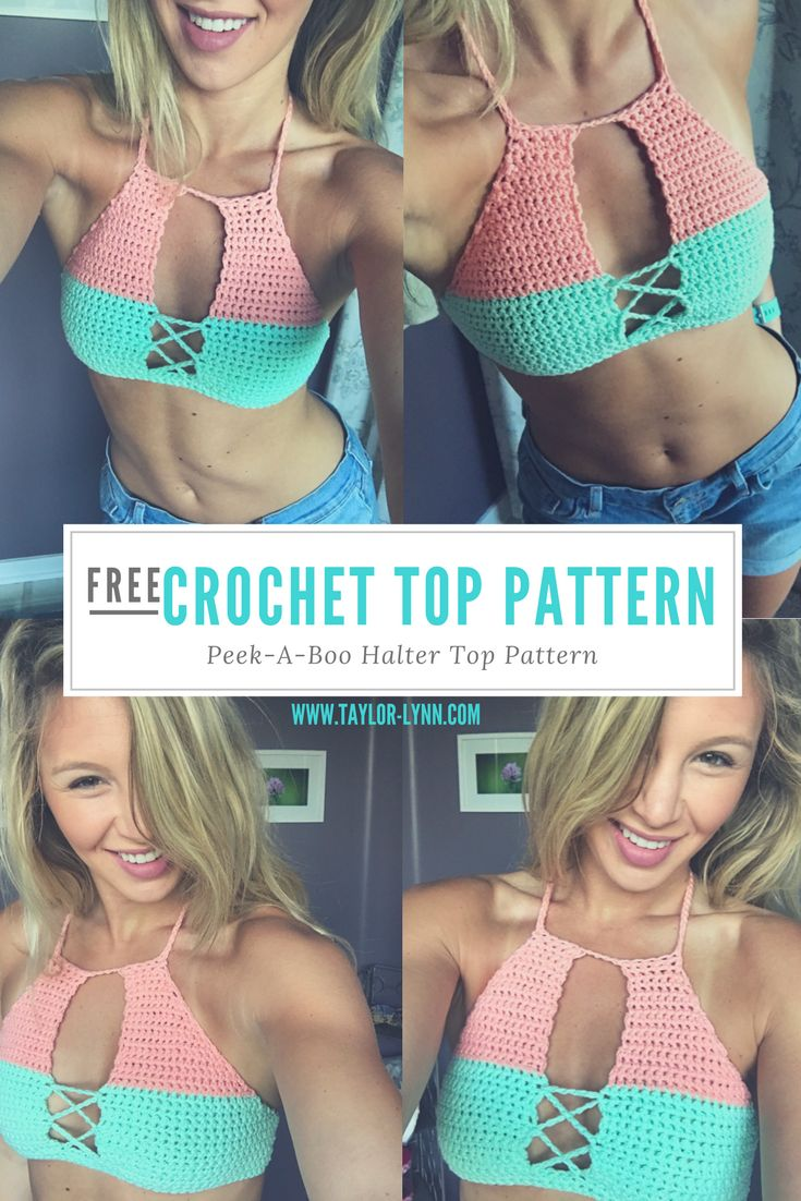 bikini top, bikini, crochet, crochet bikini, knit, swim, swimwear, crochet swim, bikini pattern, crochet bikni pattern, crochet bikini tutorial, crochet tutorial, how to, DIY, DIY bikini, Beginner Crochet tutorials, beginner crochet projects, crochet top