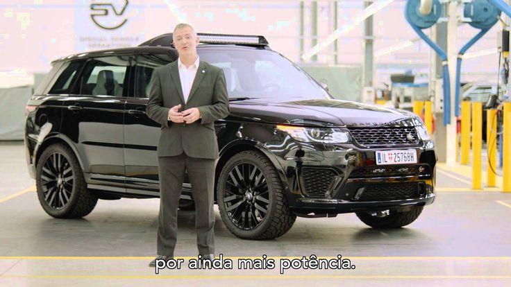 Veja como o Range Rover Sport SVR e o Defender foram customizados para aparecerem em SPECTRE, a mais nova aventura do agente 007 James Bond.
