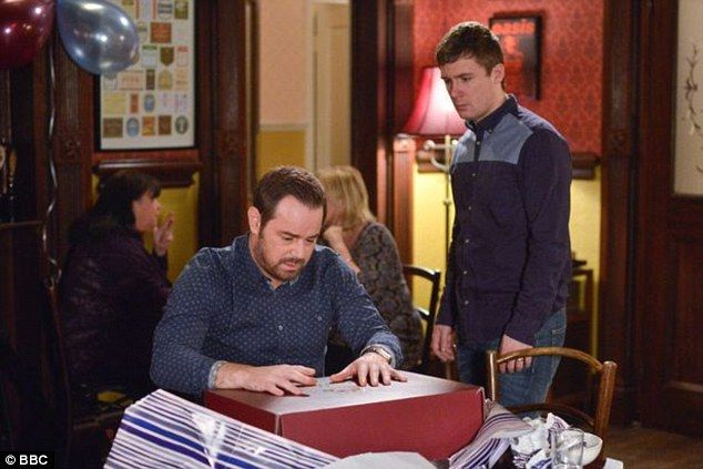 Bad news for the Carters? Eastenders bosses have released a nail-biting teaser which sees the legendary Queen Vic pub crumbling during upcoming 'Disaster Week'
