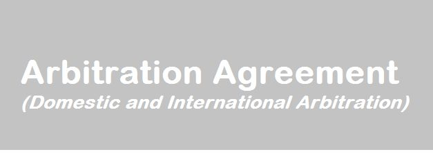 Arbitration Agreement Is A Written Agreement Between The Parties