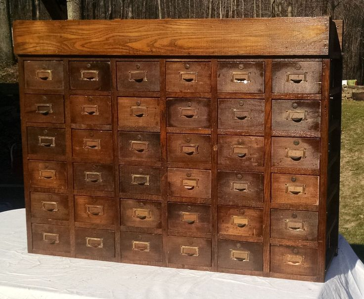 antique oak 36 drawer index library apothecary cabinet antique furniture apothecary general store candy