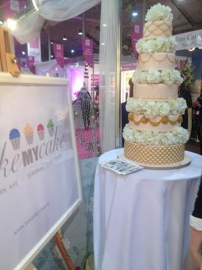 #BakemyCake #weddingcake2014 #weddingcake