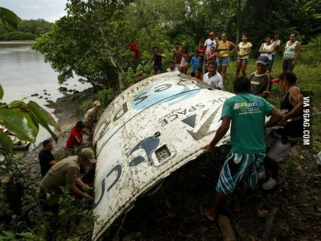 Spacecraft part found on brazilian rainforest