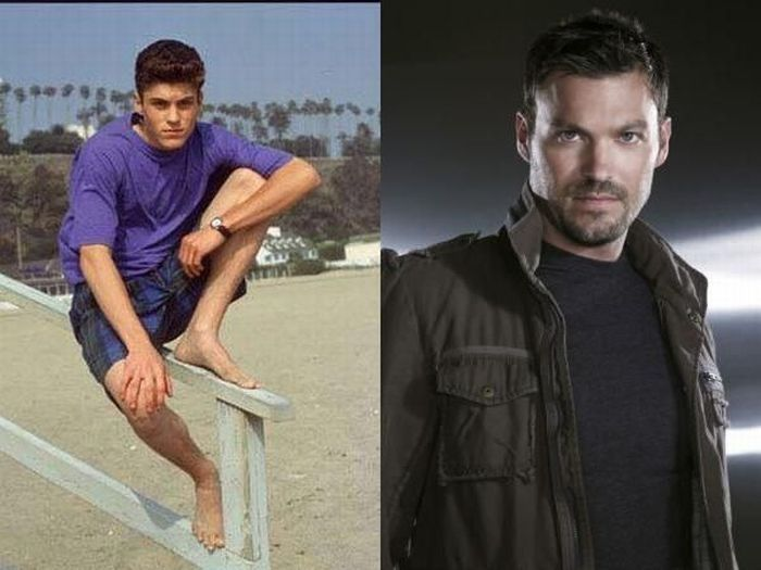 Brian Austin Green then and now