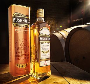 #creative #drinks #photography #bushmills #alcohol #whiskey #barrels #cellar #drinksphotography #advertising #luxury