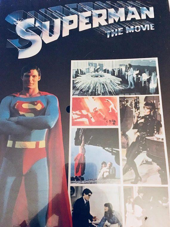 Rare Vintage NIB 1978 Superman Jigsaw Puzzle DC Comics