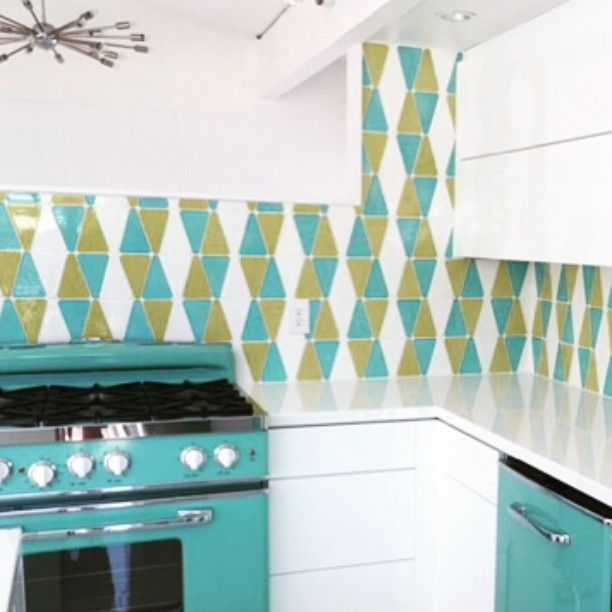 Tile Mod Teal Modwalls Tile Tile Installed 3 Shades Century House