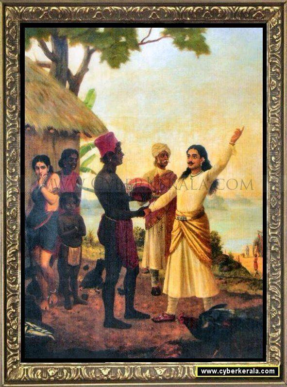 Bhishma Oath-by Raja Ravi Verma