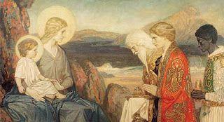 The Adoration of the Magi - John Duncan