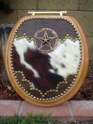 Signature Cowboy Western Decor WESTERN STAR COWHIDE FLORAL LEATHER