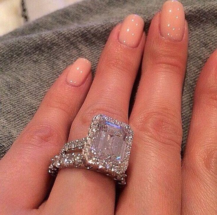 Huge engagement ring