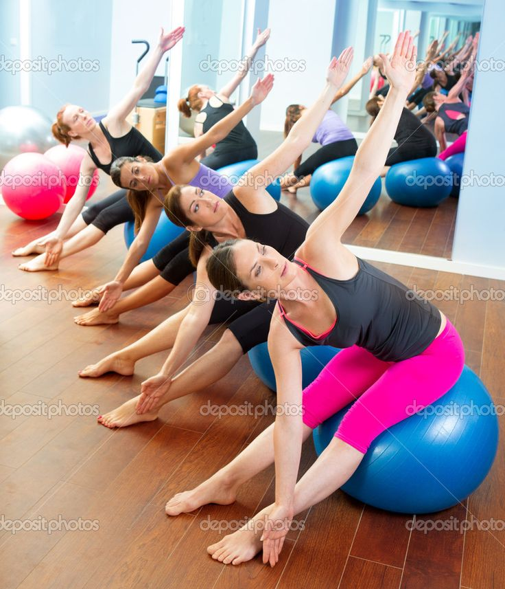 1000 images about well being pilates ball on pinterest for Gimnasia aerobica