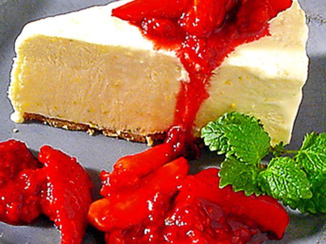 Djupfryst crème fraiche-tårta (kock recept.nu)