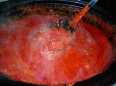 Old World Italian Spaghetti Sauce