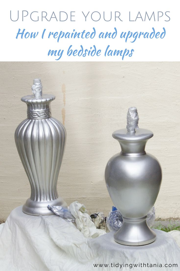 Quick and easy steps to upgrade your tired outdates Lamps